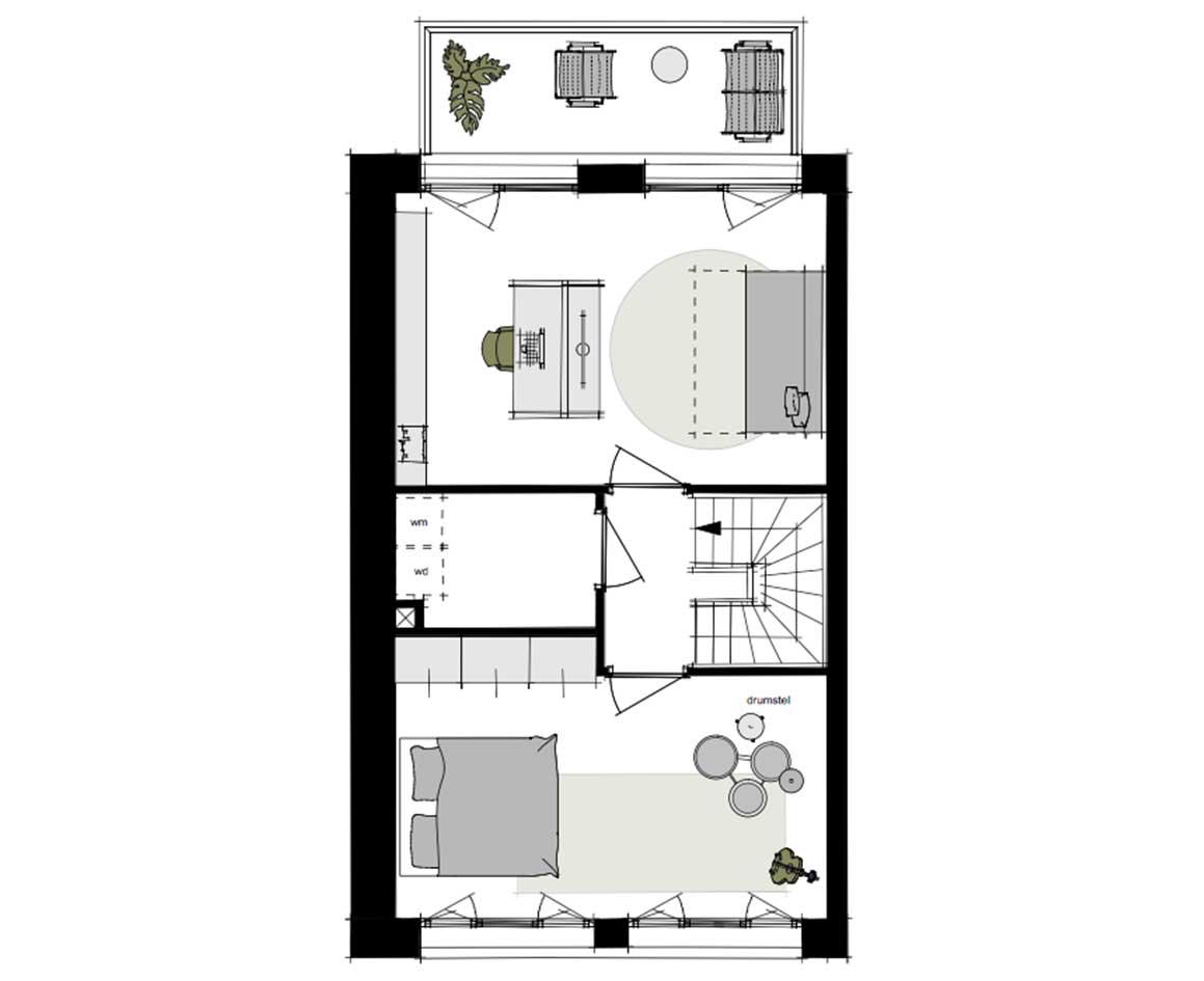 Dockside-appartementen-alkmaar-indeling-plattegrond-150m2-a1-3