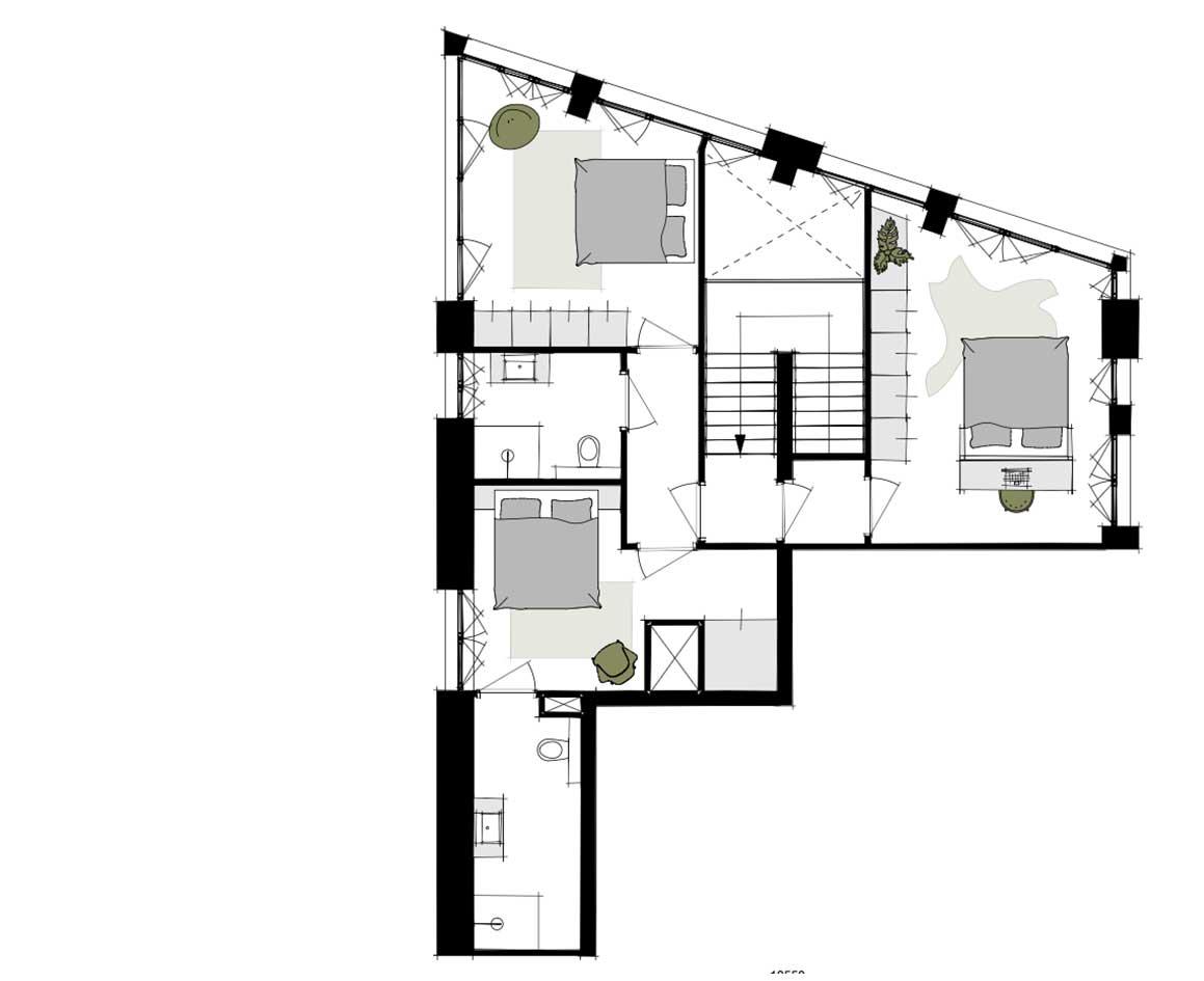 Dockside-appartementen-alkmaar-indeling-plattegrond-AA-153-m2-3